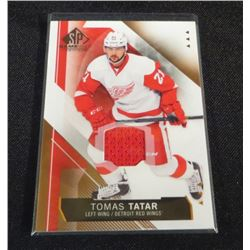 15-16 SP Game Used Copper Jerseys #67 Tomas Tatar