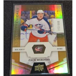 16-17 Upper Deck Trilogy #66 Zach Werenski RC