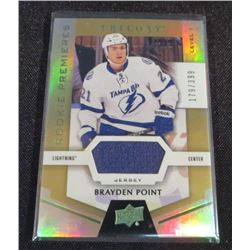 16-17 Upper Deck Trilogy Rainbow Green #68 Brayden