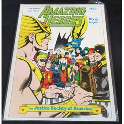 Amazing Heroes The Justice Society Of America #3