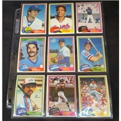 1981 OPC Baseball Lot Of 9 Cards