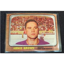 1966-67 Topps #90 Arnie Brown