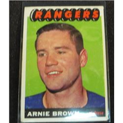 1965-66 Topps #90 Arnie Brown