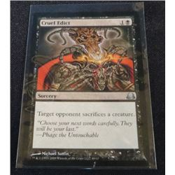 Magic The Gathering Cruel Edict Divine vs. Demonic