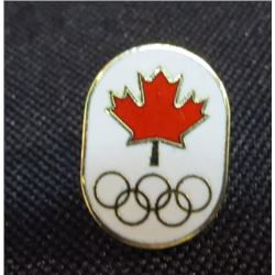 Maple Leaf Olympics Collector Pin