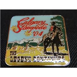 Calgary Stampede '04 Collector Pin
