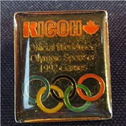 Kicoh Official Olympic Sponsor 1992 Games