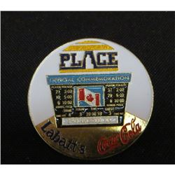 Saskatchewn Place Official Commemoration Pin