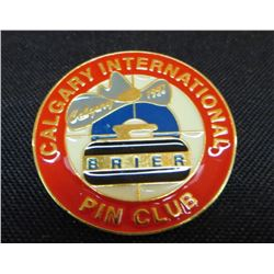 Calgary International Brier Pin Club Collector Pin
