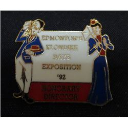 Edmonton Klondike Days Exposition '92 Honorary