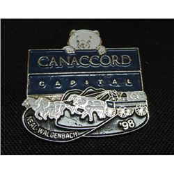 Canaccord Capital '98 Chuck Wagon Pin