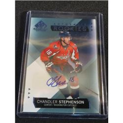 15-16 SP Game Used Auto Blue Chandler Stephenson
