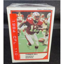 1984 Jogo CFL Series 1 Complete set Of 110 Cards
