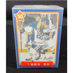 1982-83 Neilson's Gretzky Complete Set Of 50 Cards