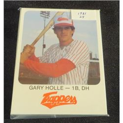 1981 Edmonton Trappers Red Rooster Set Of 24 Cards