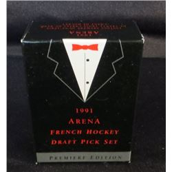 1991 Arena French Hockey Draft Picks Set Of 33