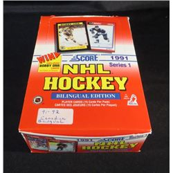 1991 Score Canadian NHL Hockey Series 1