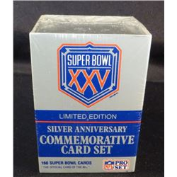 Super Bowl XXV Limited Edition Silver Anniversary
