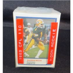 1983 Jogo Limited CFL Complete Set 110 Cards