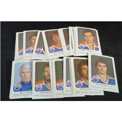 1981-82 Red Rooster Oilers Cards Lot Of 31 Cards