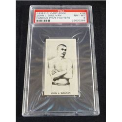 1938 F.C. Cartledge John L. Sullivan Famous
