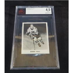 1965-66 Coca-Cola Bobby Hull Beckett Graded 4.5