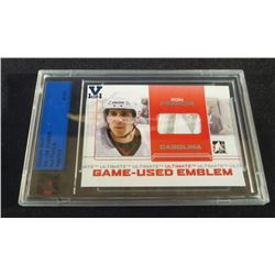 2008 Ultimate Vault 1/1 Game Used Emblem Ron