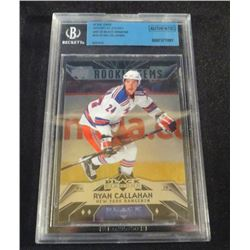 07-08 Black Diamond Rookie Ryan Callahan Beckett