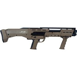 DP-12 12 GA DOUBLE BARREL PUMP SHOTGUN 16 RDS FLAT DARK EARTH