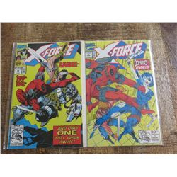 X-Force #11 and #15