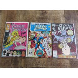 Silver Surfer #1, #50 and Annual #1