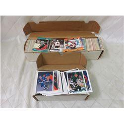 Upper Deck and Pro Set Hockey Cards