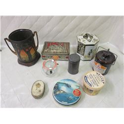 Tins and Containers