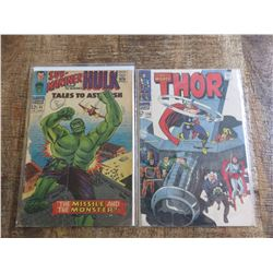 Tales to Astonish #85 and Thor #156