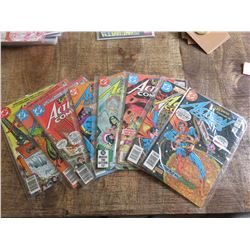 Action Comics #518-520 and #528-532
