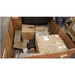 Crate Of Motors And Parts As Pictured