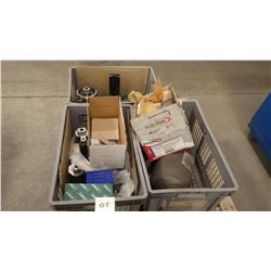 Three Crates of Tooling And Parts As Pictured