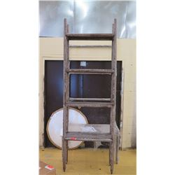 Tall Shelving Unit w/Mirror (Unit JO-31-1)