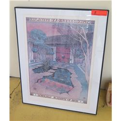 Framed Art:  Reflections of a Gracious Heritage  (Honolulu Academy of Arts) Poster, 22X28
