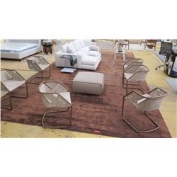 Large Area Rug: Brown, 25ft X 12ft