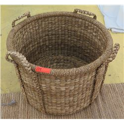 Large Woven Basket (approx. 3ft diameter)