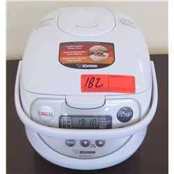 Zojirushi 5-Cup Rice Cooker/Warmer, Includes Power Cable