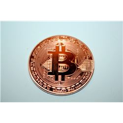 Bronze Plated Coin BTC Bitcoin Collection