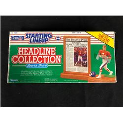 JOHN ELWAY 1991 NFL Headline Collection Starting Lineup (IN BOX)