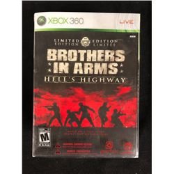 XBOX 360 BROTHERS IN ARMS (HELL'S HIGHWAY) LIMITED EDITION VIDEO GAME