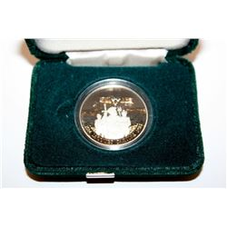 1984 CANADA COMMEMORATIVE PROOF ONE DOLLAR JACQUES CARTIER COIN CASE