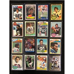 FOOTBALL ROOKIE TRADING CARD LOT (KELLY, SHELL, ALLEN & MORE)