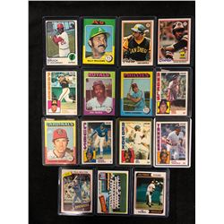 BASEBALL TRADING CARDS LOT  (McRAE, JENKINS, WINFIELD & MORE)