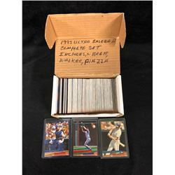 1993 ULTRA BASEBALL (COMPLETE SET) INCLUDES BRETT, WALKER, PIAZZA
