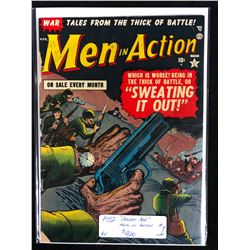 "1952 ""GOLDEN AGE"" #1 MEN IN ACTION"